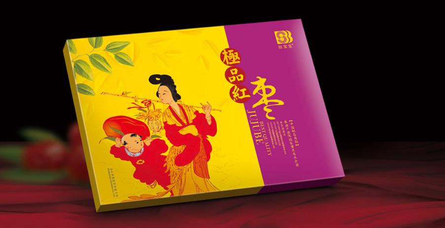 紅棗包裝設計,紅棗禮盒設計