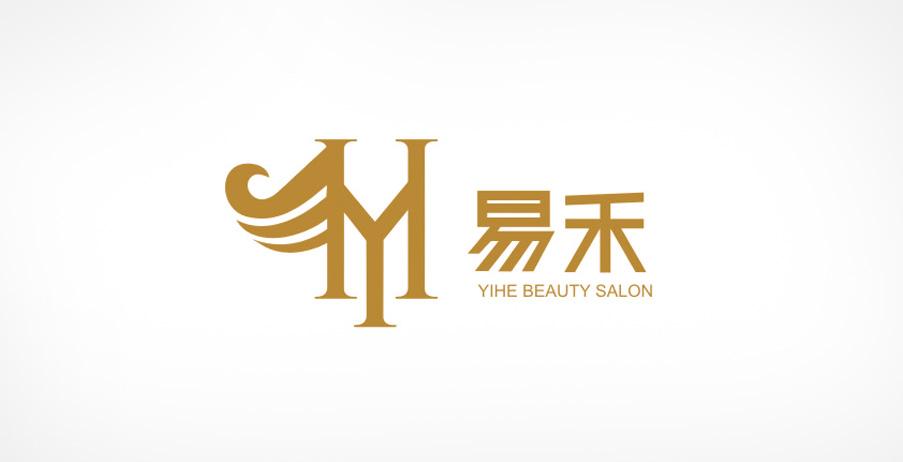 美容美发标志设计,美容院logo设计